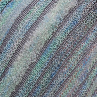 Detalje af sjal