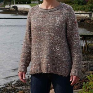 Unisex sweater foran