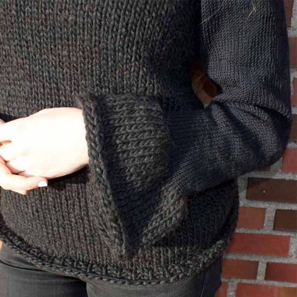 Detalje af bluse
