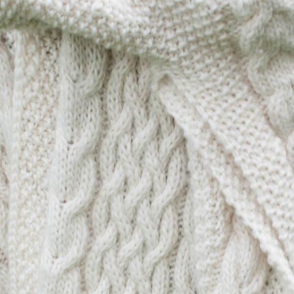 Detalje af coatigan