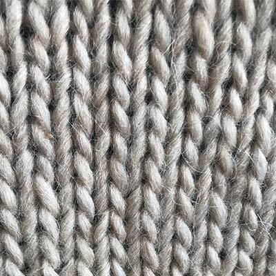 Detalje af storsweater