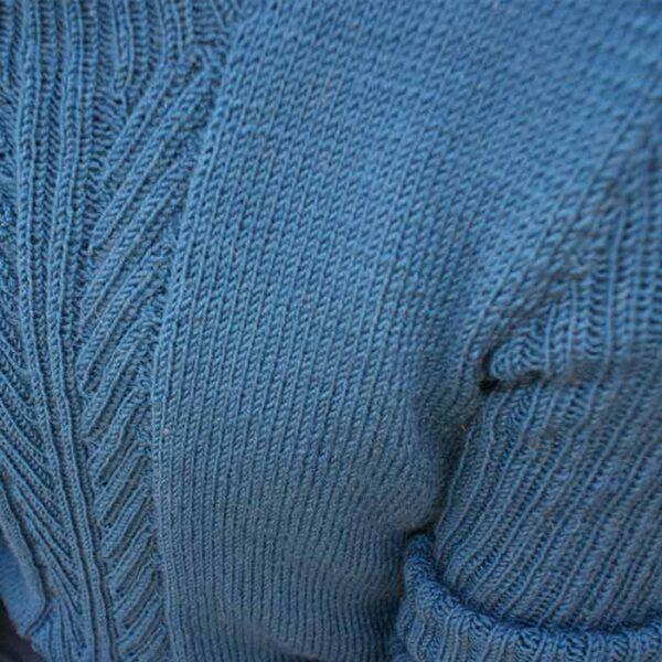 bryst detalje af sweater til mænd