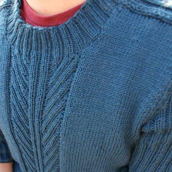 detalje af sweater til mænd