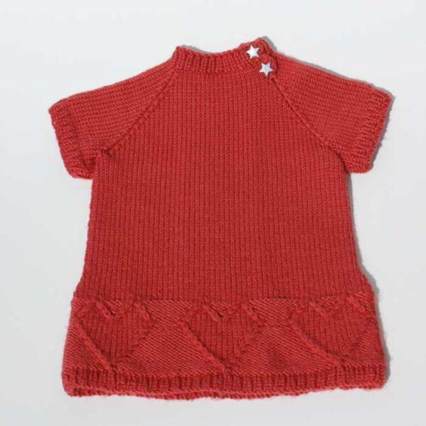 Baby kjole bagfra