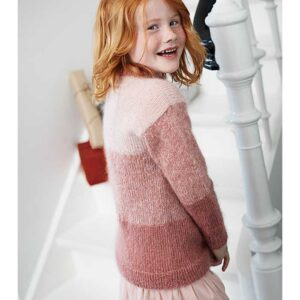 pige sweater fra Kirsten Nyboe Strikdesign