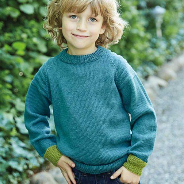 Viser drenge raglan sweater forfar