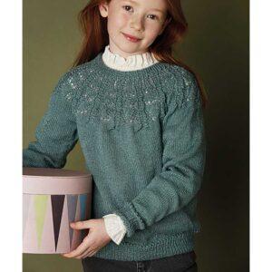 pige sweater set forfra