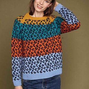 Raglan sweater forfra