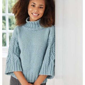 Teen aran sweater