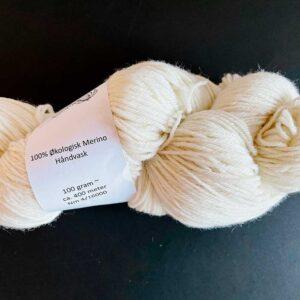 Økologisk merino uld 400 m på 100 g